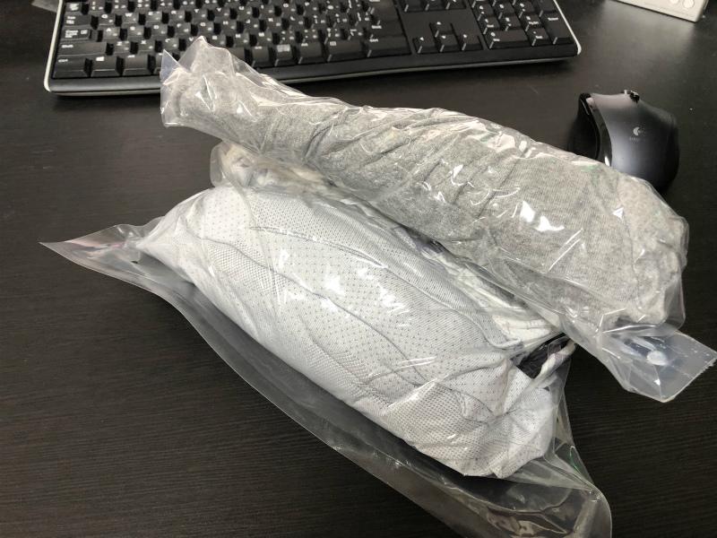 タイ旅行への準備⑥ 衣料圧縮袋を買ってみた。