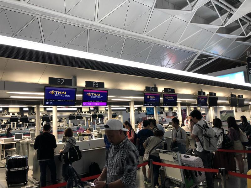 1週間のパタヤ・バンコク旅行に向けてセントレア(中部国際空港)からタイへ出発