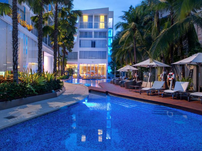 4回目のタイ旅行 パタヤのホテルその1 バラクーダ パタヤ Mギャラリー バイ ソフィテル (BARAQUDA PATTAYA – MGALLERY BY SOFITEL)