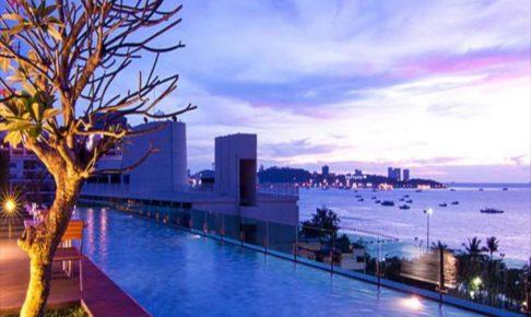 パタヤでのホテル 2つ目 セヴン ジー チック ホテル (Seven Zea Chic Hotel)