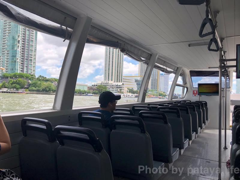 サパーンタークシン駅でICONSIAM (アイコンサイアム)行きのシャトルボートの乗り方