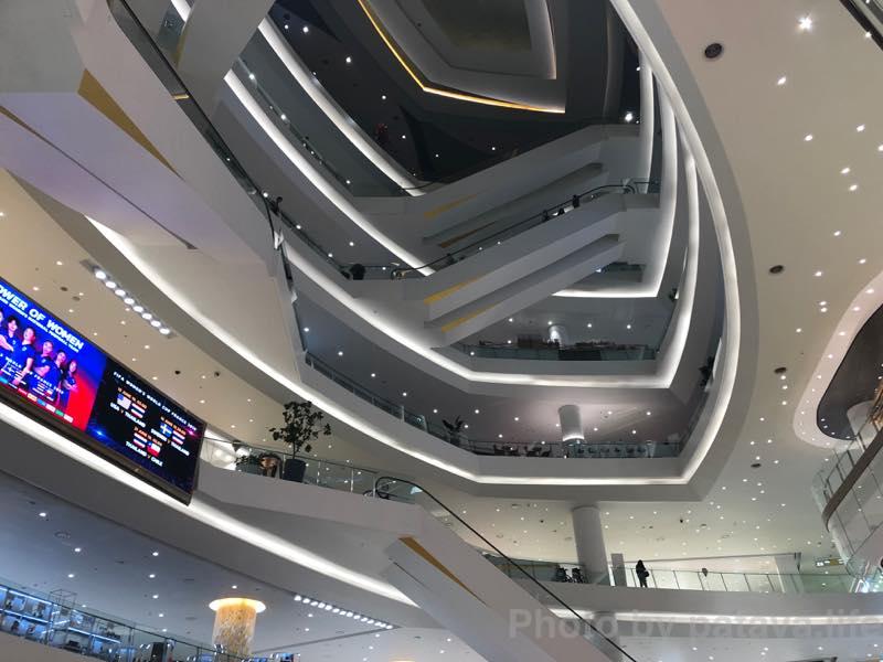 ICONSIAM (アイコンサイアム)の3階から上
